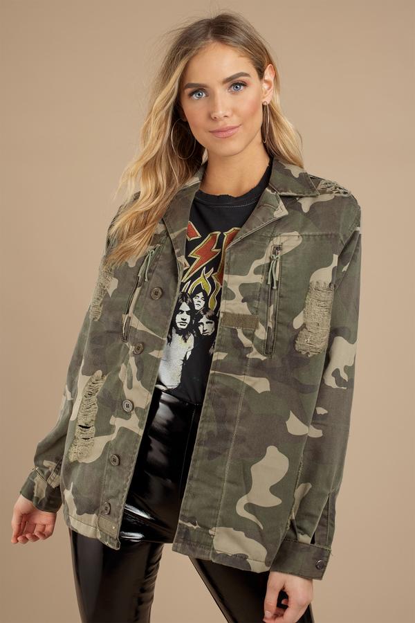 6b3174b61f69c Women's Utility Jackets | Black Jackets, Green Utility Coats | Tobi