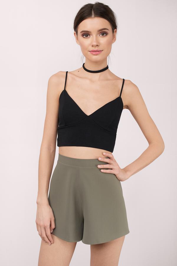 Trendy Blush Shorts - High Waisted Shorts - Blush Shorts - $48.00
