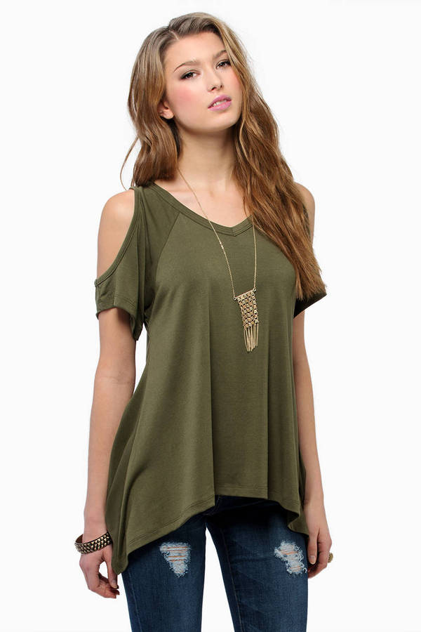Ice Cold Shoulder Top