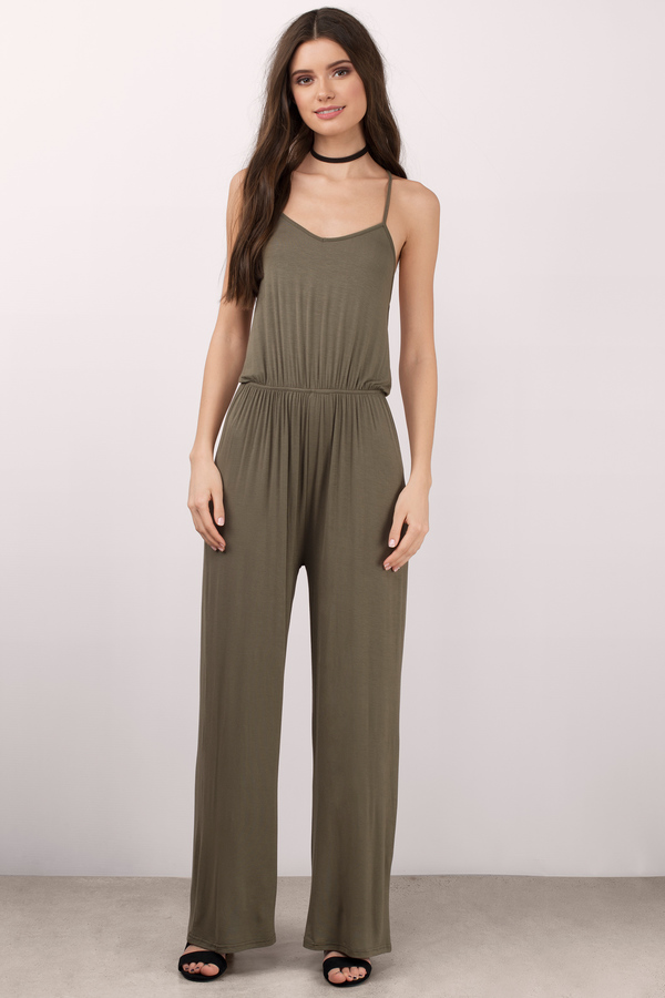 Locked In Love Strappy Back Jumpsuit