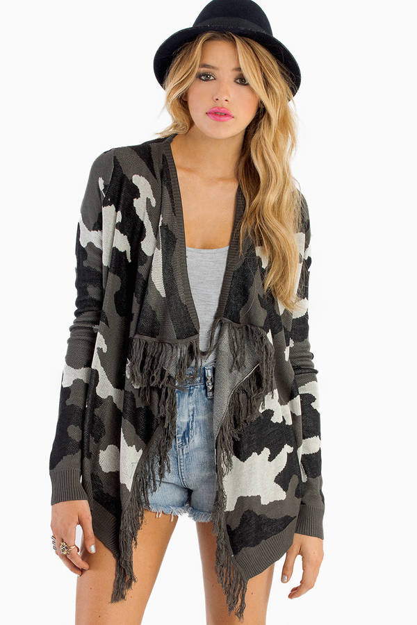 Feeling Fatigue Cardigan