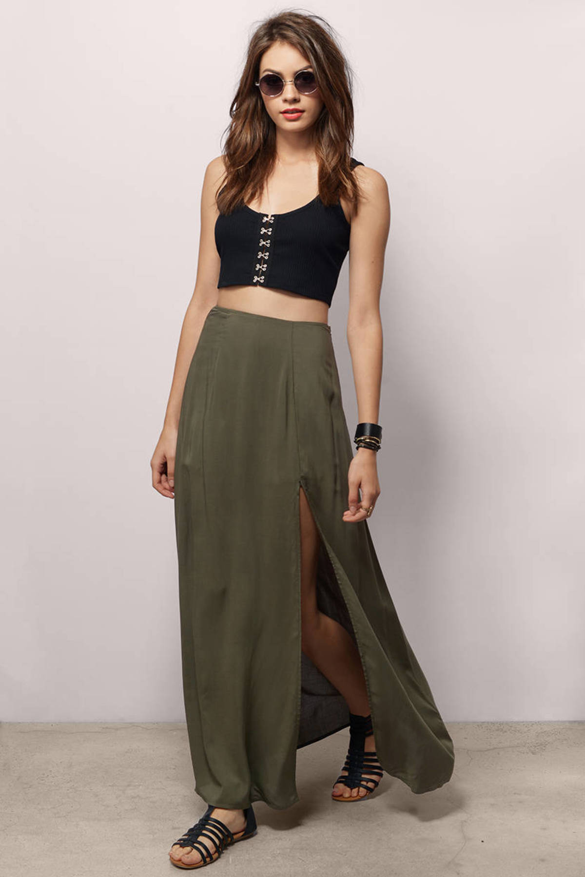 Maxi Skirt with Slit | Dress images