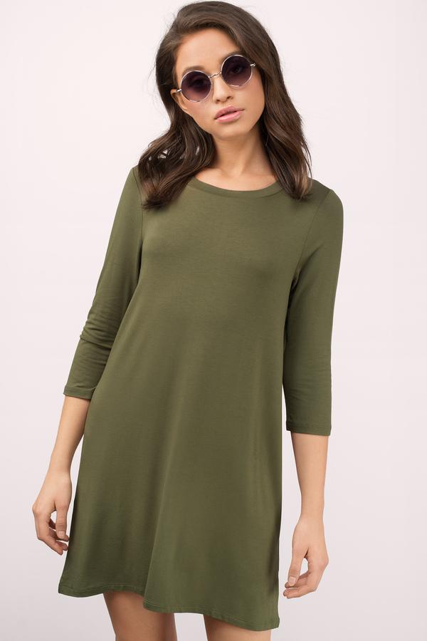 Day Dresses - Cute- Summer- T-Shirt- Casual Dresses - Tobi