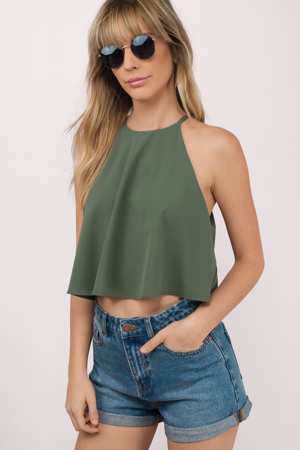 Discover the latest range of crop tops at ASOS. Shop the range of styles from lace crop tops to sequin crop tops in your favourite colours.
