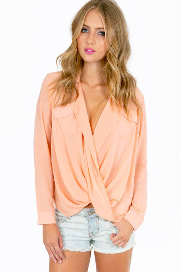 Aubrey Twist Top