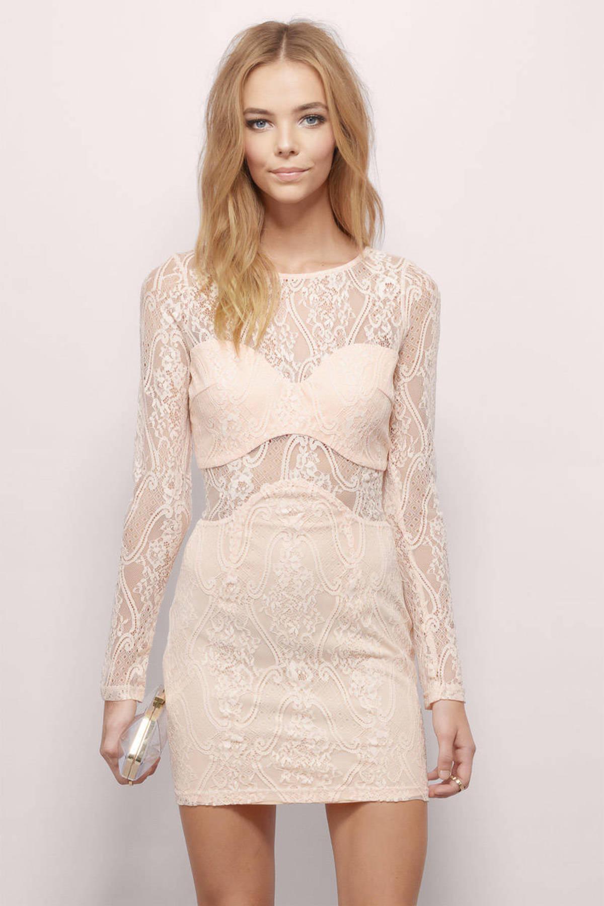 Peach Bridesmaid Dresses | Shop Peach Bridesmaid Dresses at Tobi ...