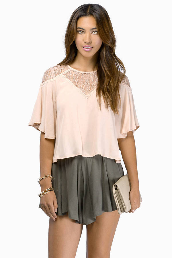 Hearts A Flutter Top