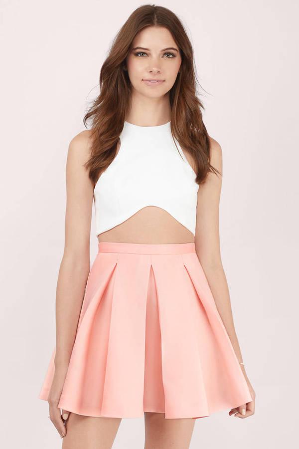 Skater Skirts | Black Skater Skirt, Red Skater Skirt | Tobi