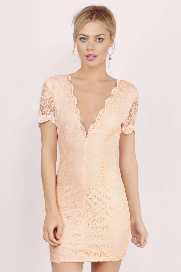 Vdara Lace Bodycon Dress