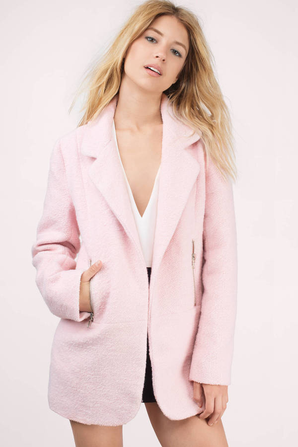 Pink Coat | Shop Pink Coat at Tobi