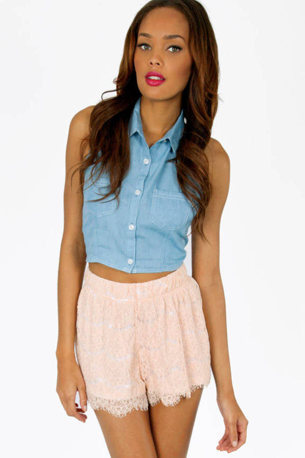 Lace Yourself Shorts