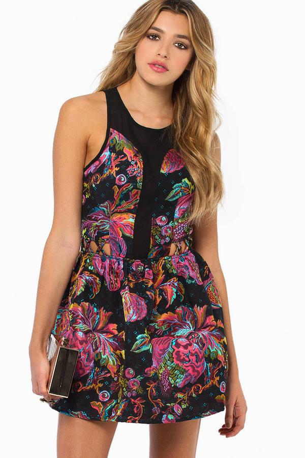 English Rose Nicola Flare Dress