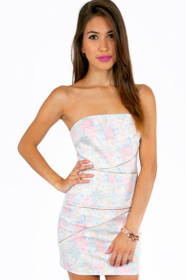 Zip Your Tulip Dress