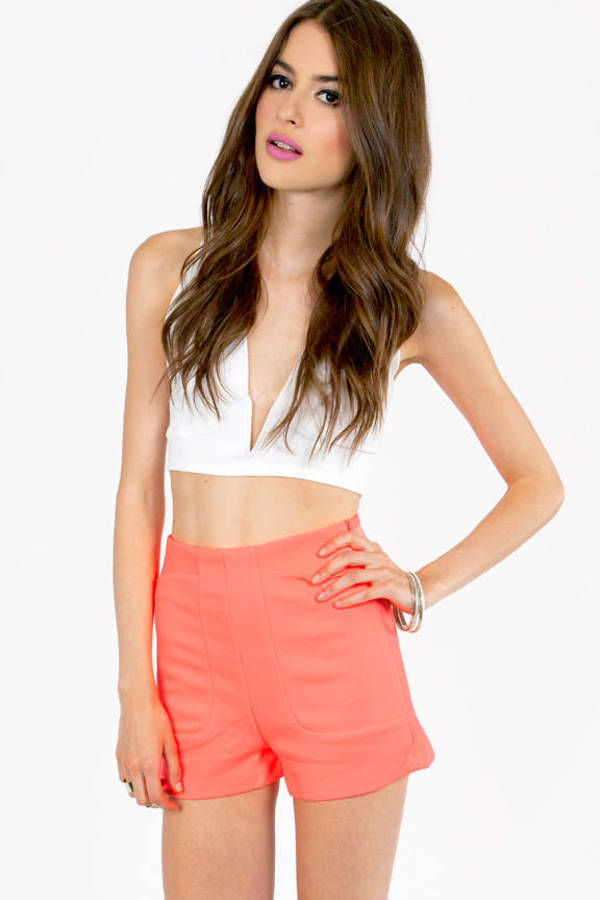 Neon Deep Pocket Shorts