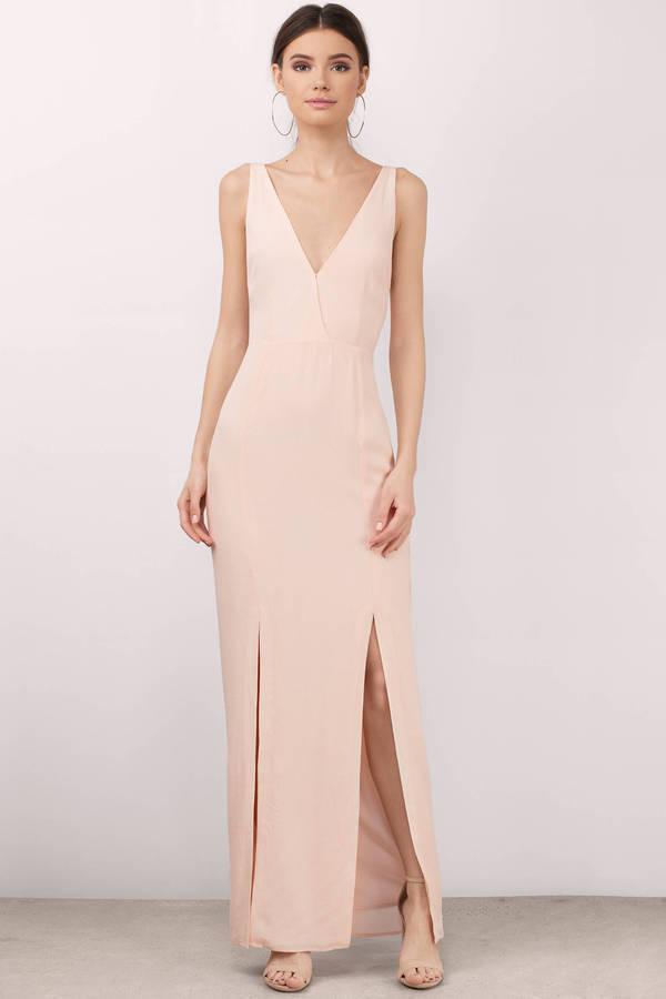 Blush Pink Dresses   Blush Colored, Light Pink, Prom & Cocktail   Tobi