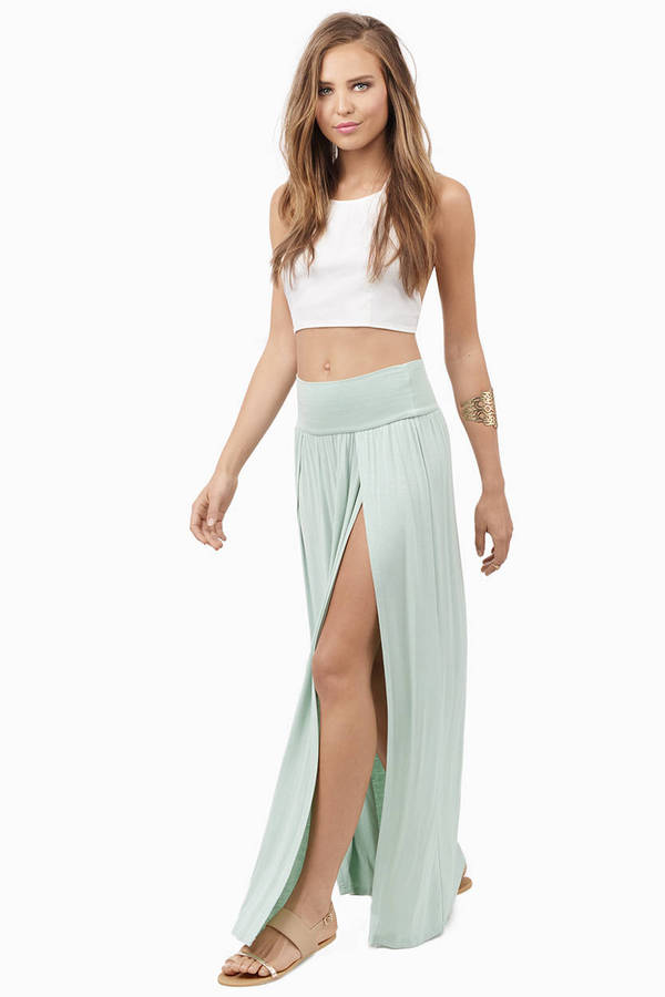 Slit Personality Skirt