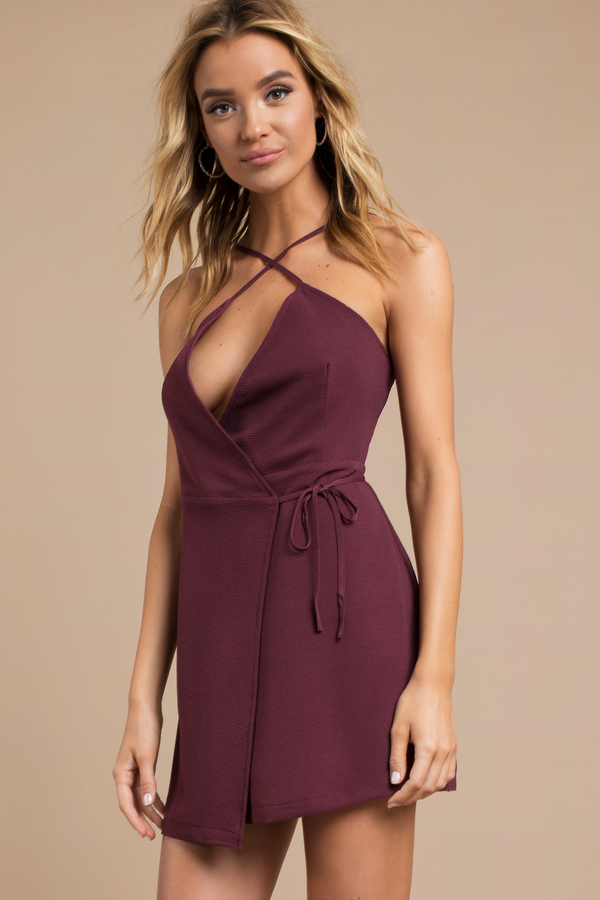 Plum Dresses | Plum Colored Gowns, Plum Short Dress | Tobi
