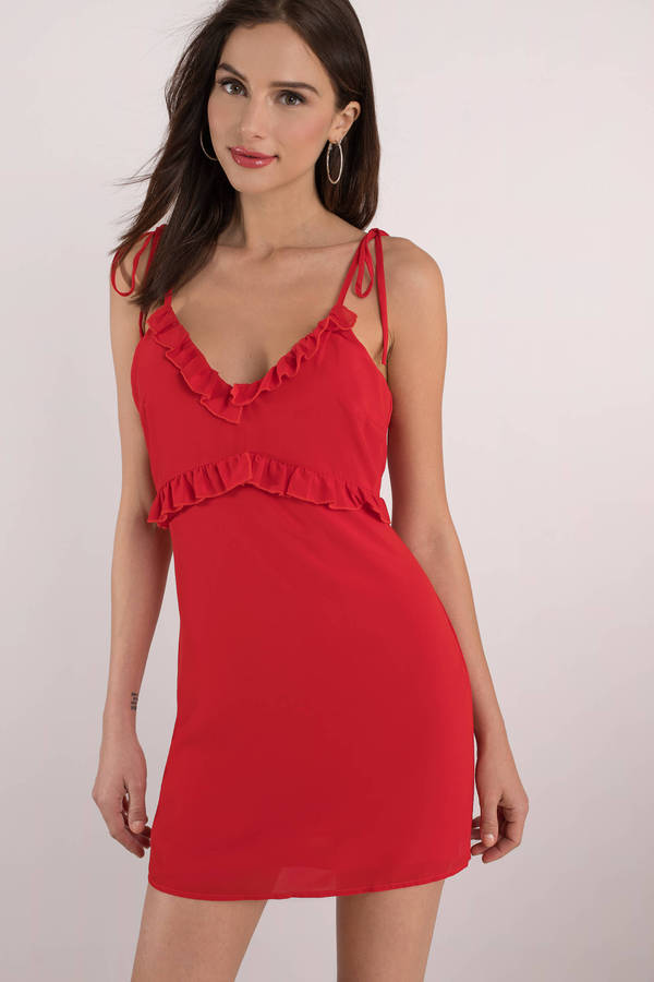 valentines day red cant fight the feeling shift dress