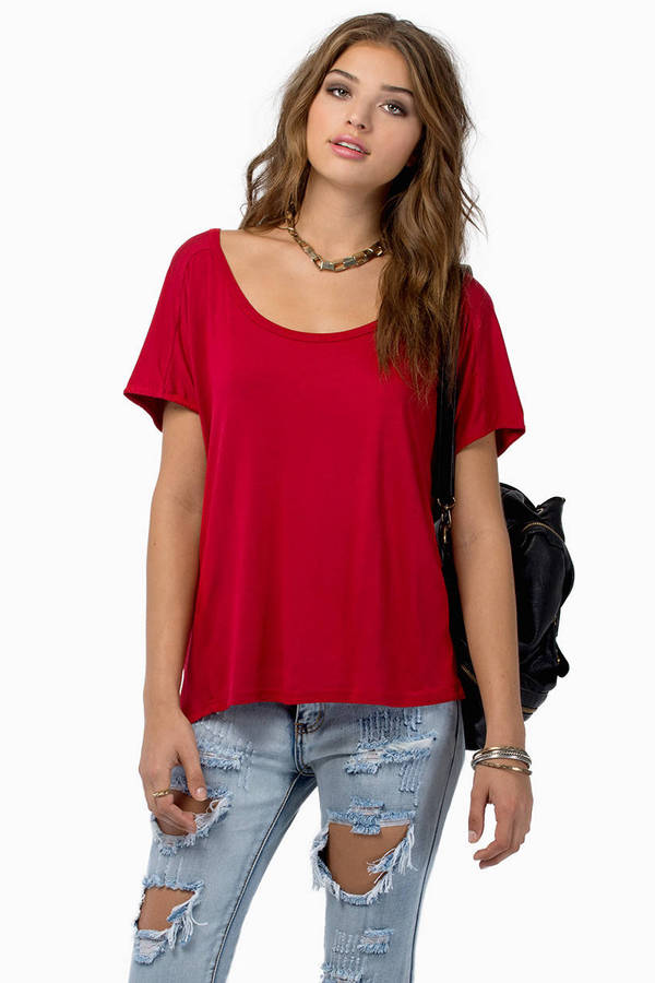 Falling Behind Tunic Top