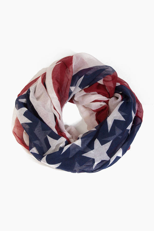 Stars and Stripes Infinity Scarf
