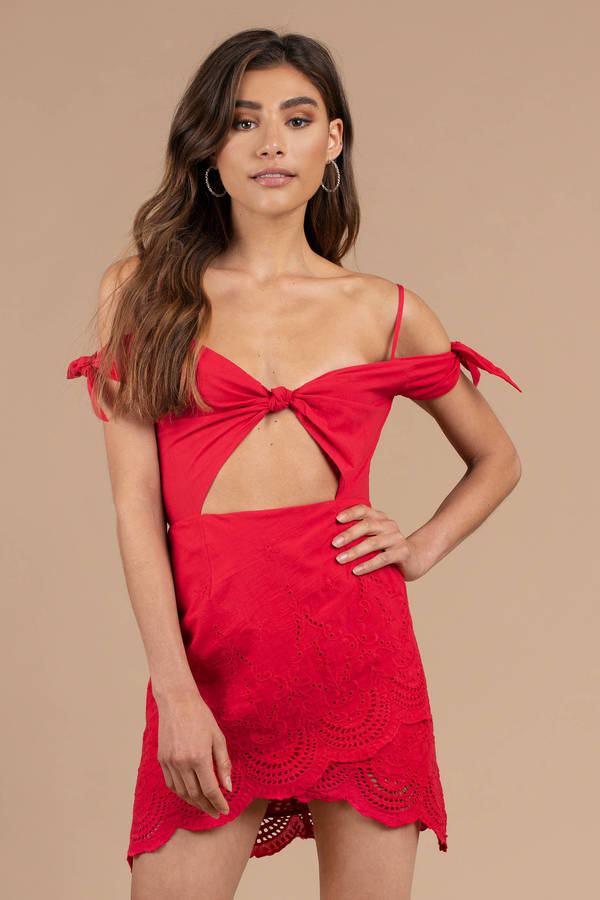Red Cocktail Party Dresses