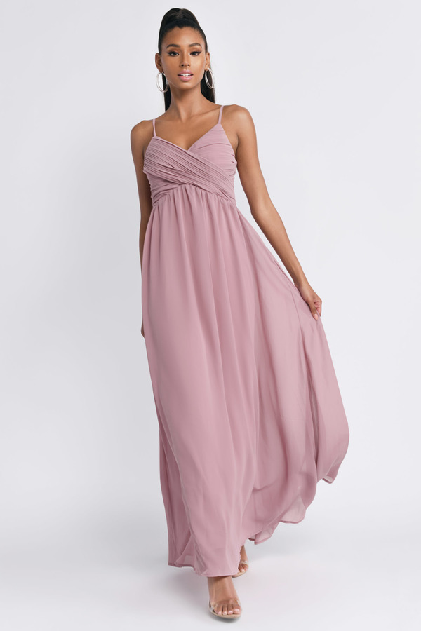 384a3b280429 All About Tonight Rose Maxi Dress - $38 | Tobi US