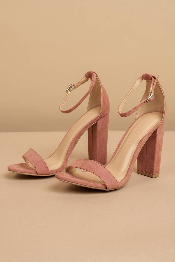fe0c2d2297c42 Ankle Strap Heels