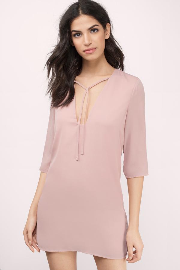 Blush Pink Dresses | Blush Colored, Light Pink, Prom & Cocktail | Tobi