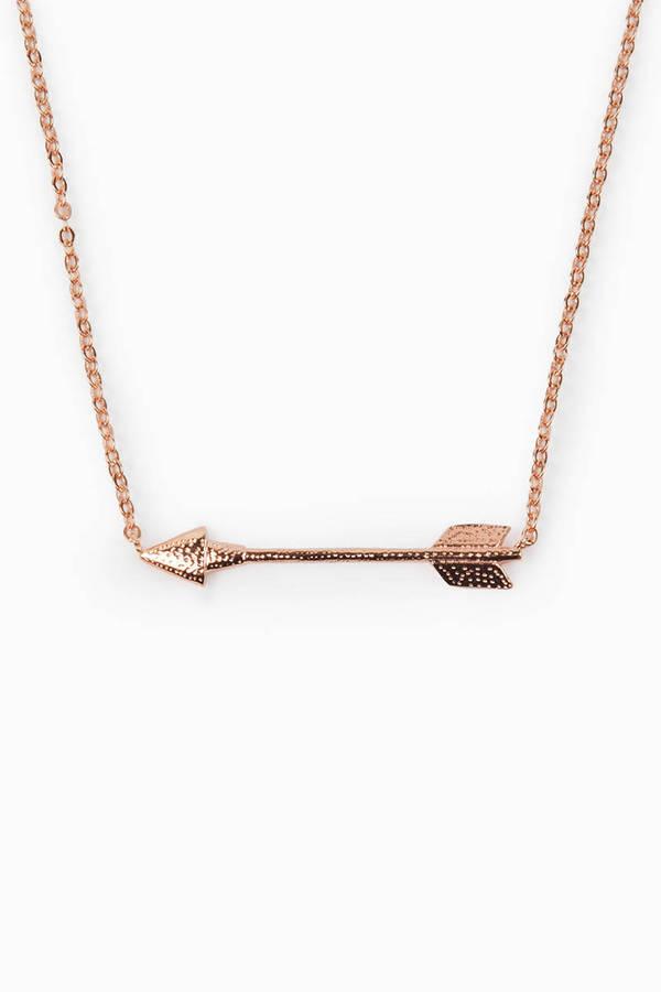 Straight Arrow Necklace