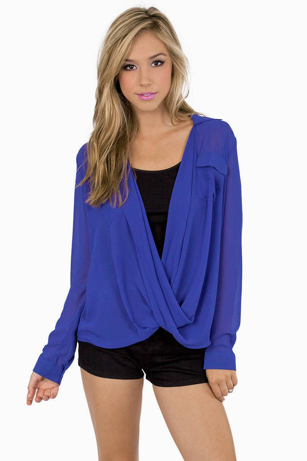 Marlene Twist Blouse