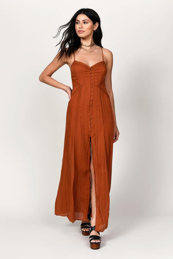 4f8d04450d Orange Dresses