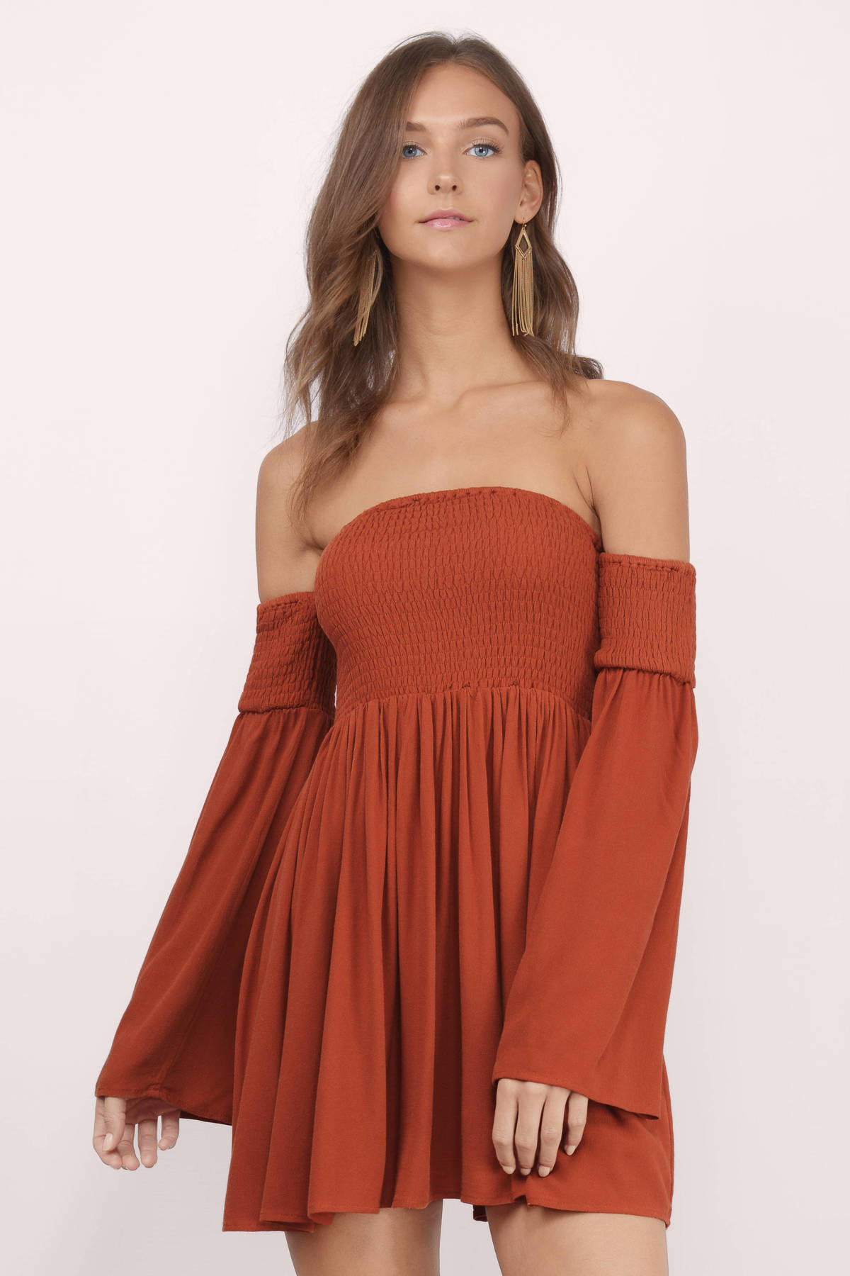 Find off the shoulder skater dress at ShopStyle. Shop the latest collection of off the shoulder skater dress from the most popular stores - all in one.