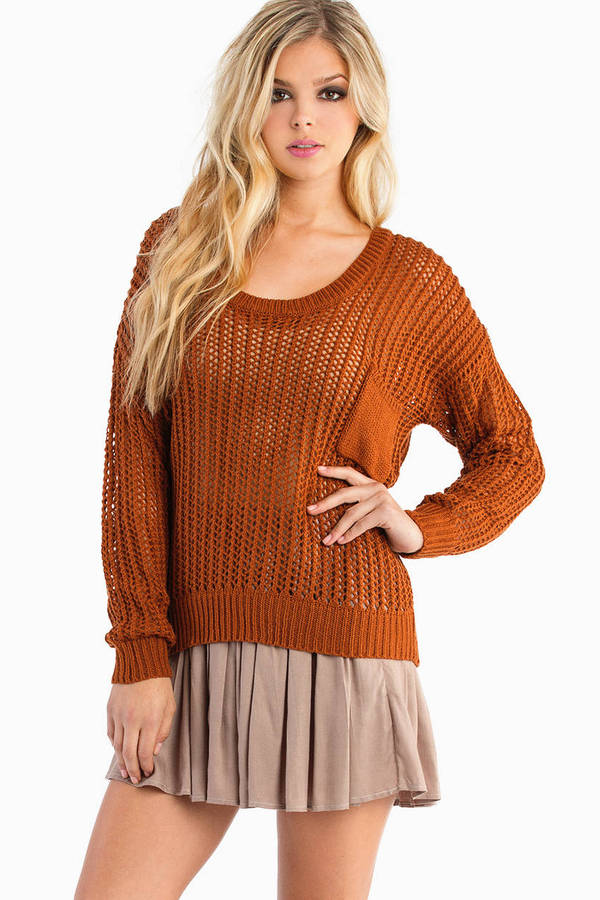 Run To You Knit Sweater