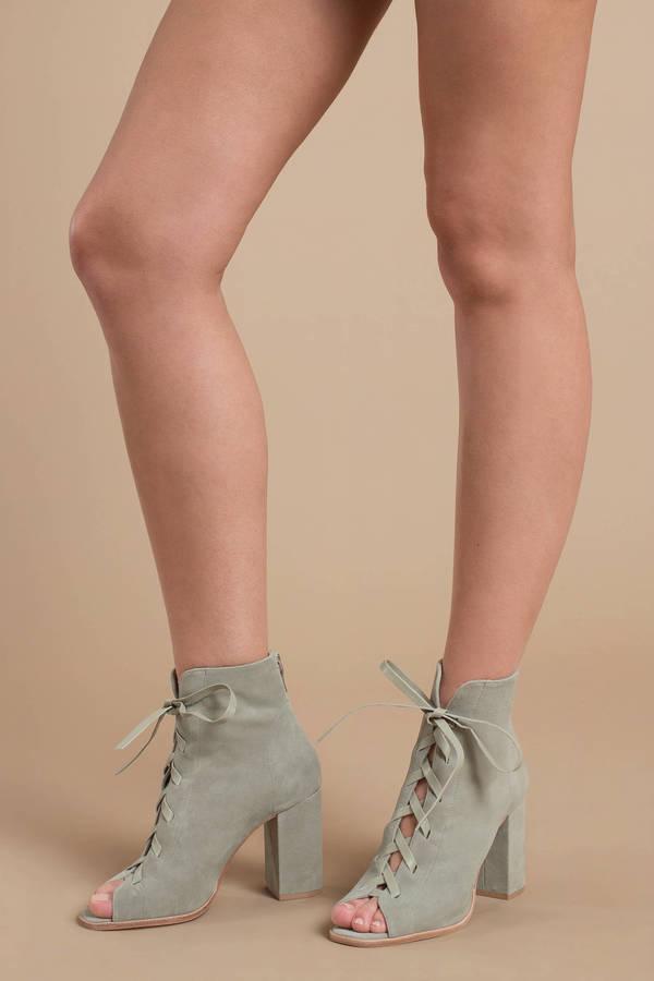 b705ff1b240c22 Heels, Sage, Kristin Cavallari Layton Suede Peep Toe Booties ...