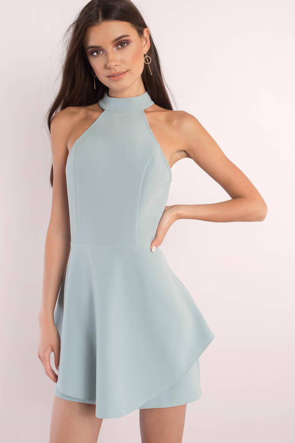 a4e4e35385 Sage Dress - Open Back Dress - Skater Dress - AU  46