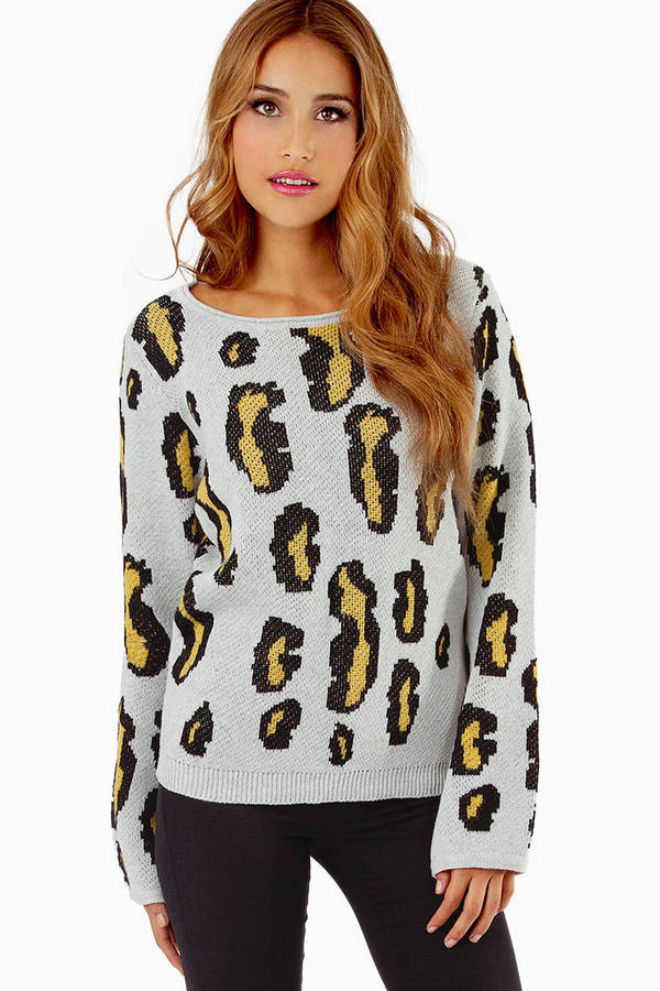 Pullover Leopard Sweater