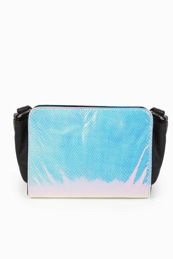 Accents Holly Hologram Satchel