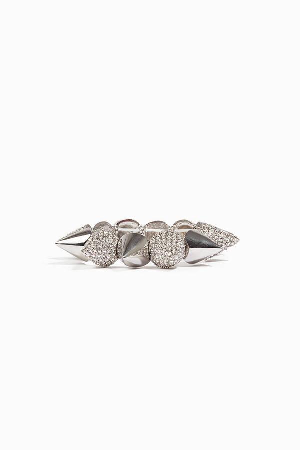 Pave Spiked Bracelet