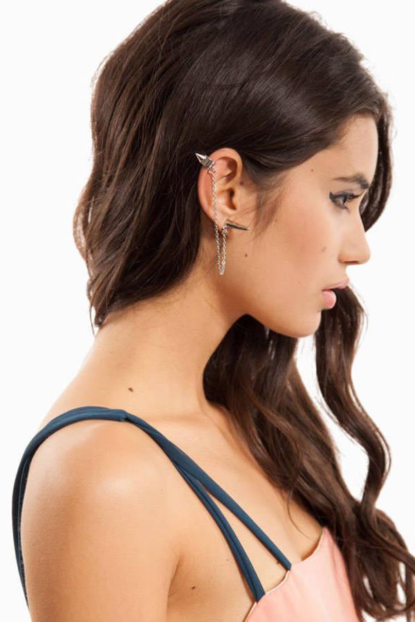 Spiker Cuffer Earring