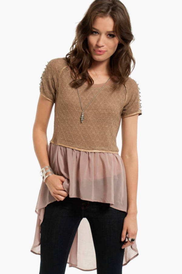 Kenley Skirted Top