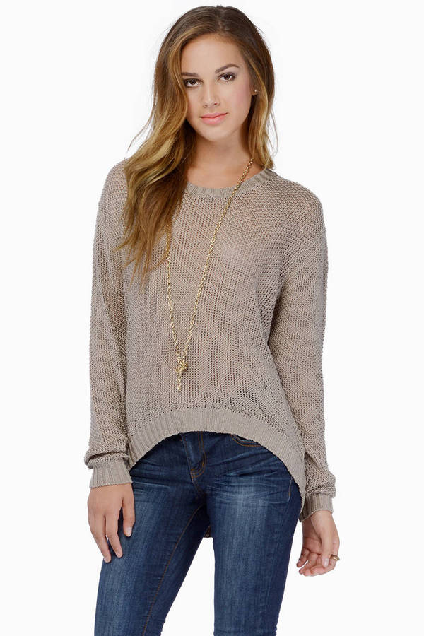 Breathe Easy Knit Sweater