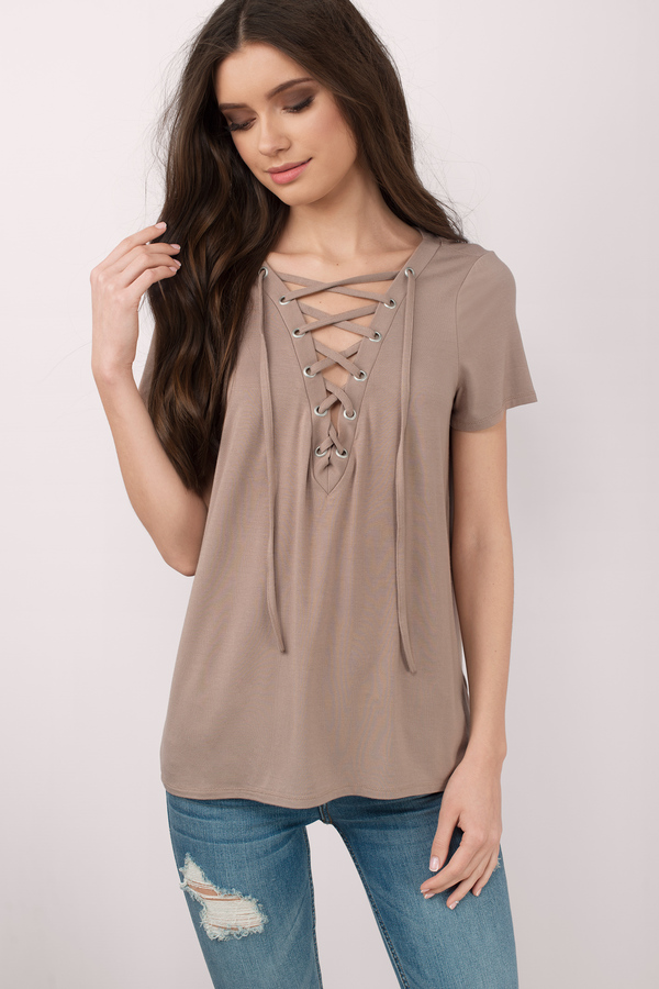 f2023534f8 Lace Up Shirts