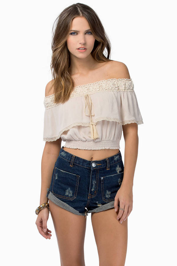 Frida Crop Top