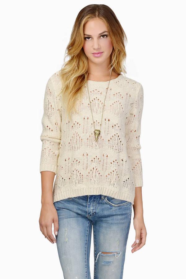 Maggie Crochet Sweater