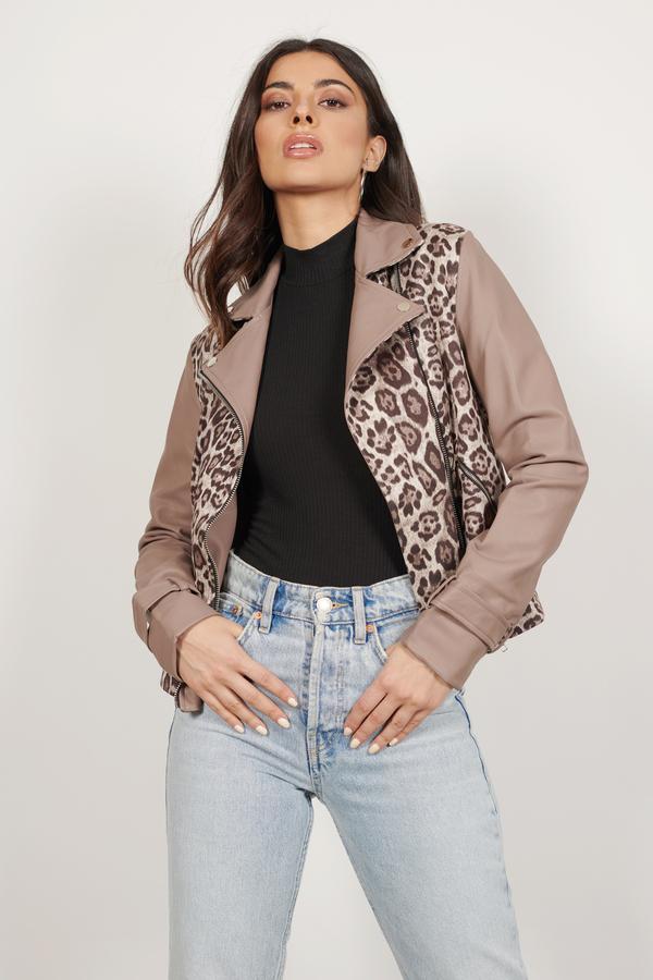 Women\'s Faux Leather Jackets   Biker Jackets, Moto Jacket   Tobi