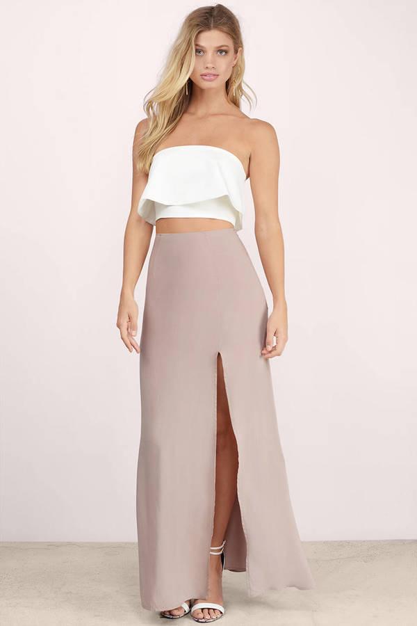 Oh Slit Maxi Skirt