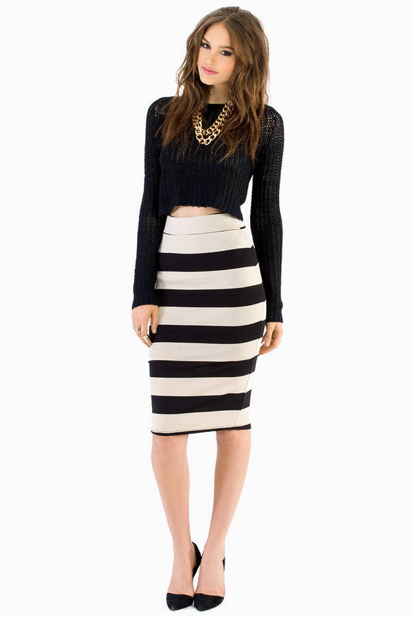 Pusher Pencil Skirt