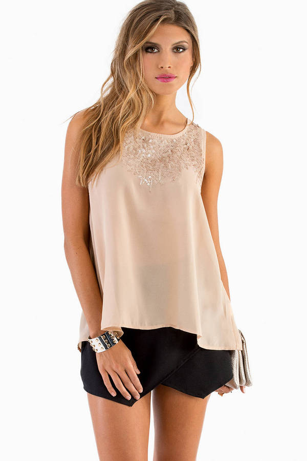 Theresa Sequin Top