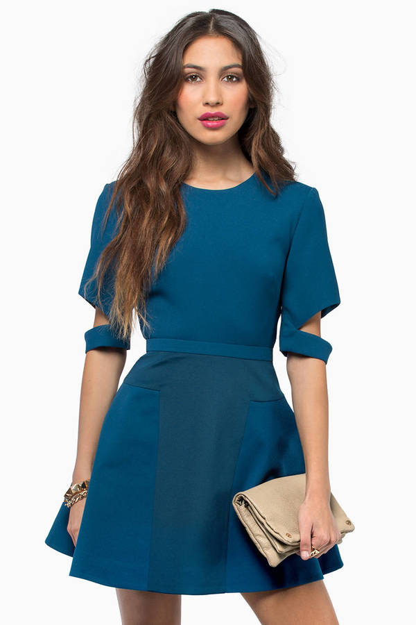 Finders Keepers Lone Ranger Sleeve Dress