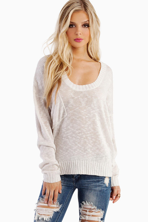 One Teaspoon Bad News Knit Sweater